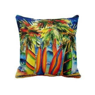 Surfing Pillows